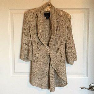 Open weave sweater, size M